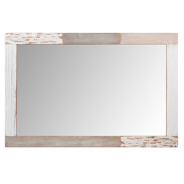 Miroir en bois H 90 cm OLERON