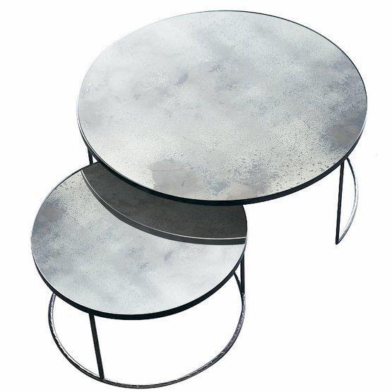 2 Tables basses écrues Nesting Coffee - Notre Monde