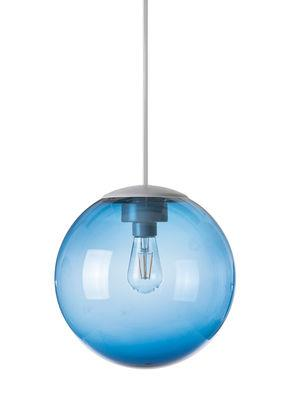 Suspension Spheremaker / Ø 25 cm - Fatboy bleu en matière plastique