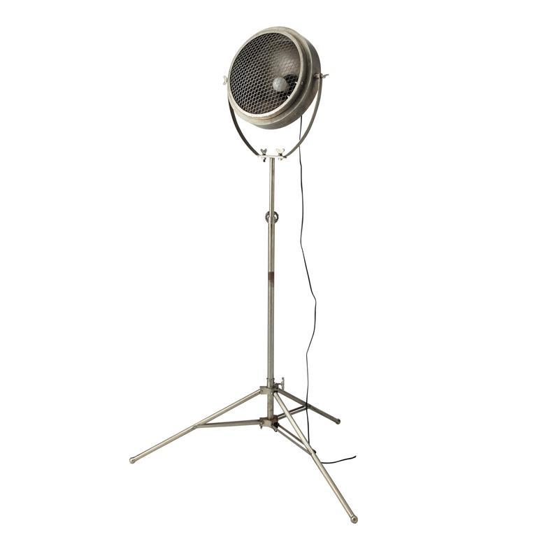 Lampadaire réglable avec trépied en métal H 170 cm PHARE