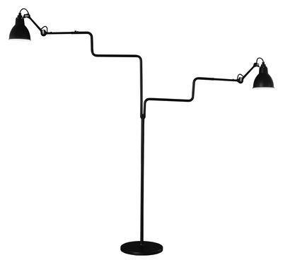 Lampadaire N° 411 Double / Lampe Gras - DCW éditions noir satiné