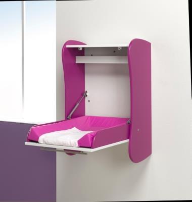 table langer murale prune camif ref a10009613 domozoom. Black Bedroom Furniture Sets. Home Design Ideas