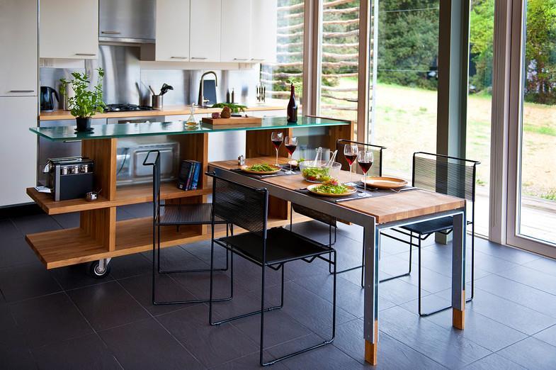 cuisine moderne avec coin repas moragues meyer photo n 95