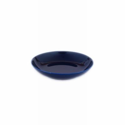 Assiette calotte Porcelaine de Limoges Bleu de four