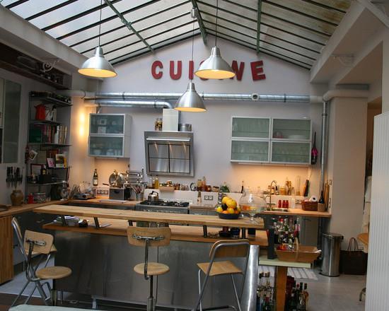 Cuisine style industriel loft christophe dugied un loft for Deco style loft industriel