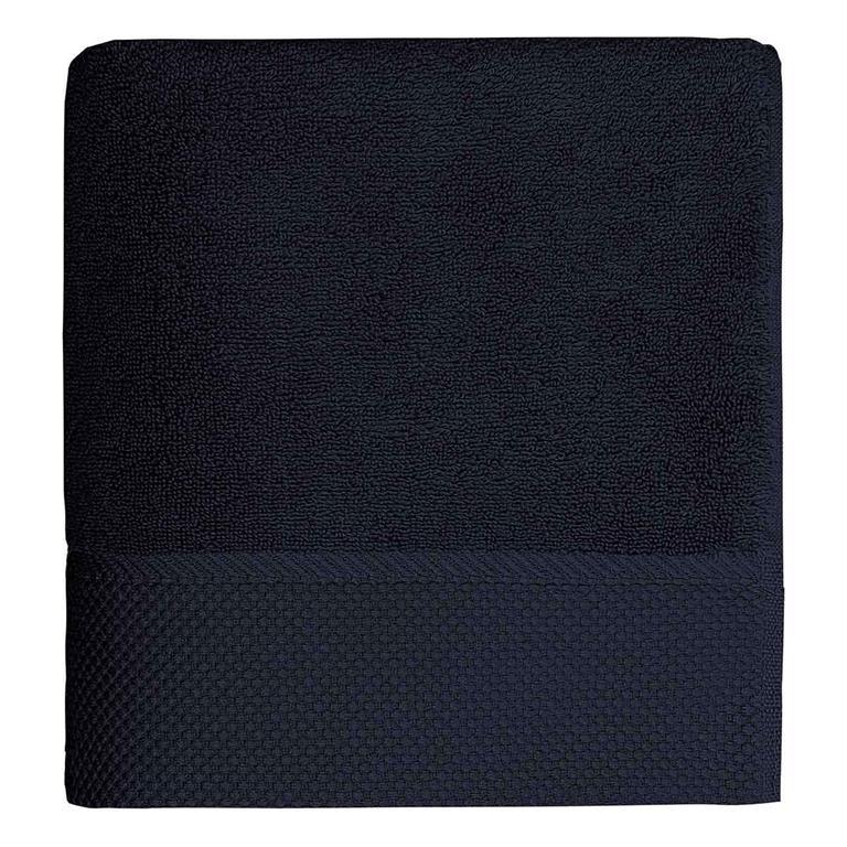 Drap de bain 560gr/m²  Bleu Nuit 70x140 cm