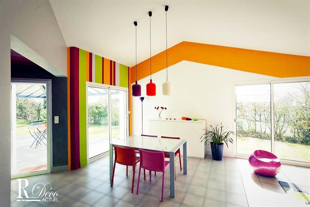 Image Salle à manger colorée
