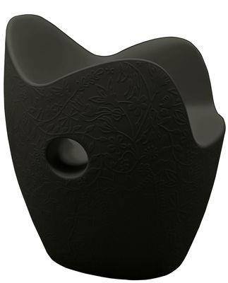 Chaise O-Nest - Moroso noir en matière plastique