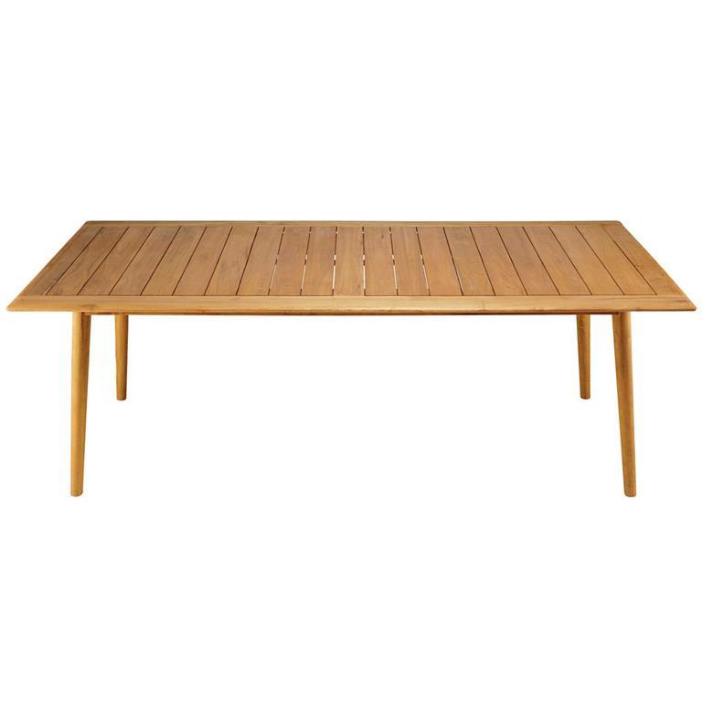 Table de jardin 8 personnes en acacia massif Frejus