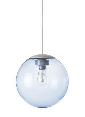 Suspension Spheremaker / Ø 25 cm - Fatboy bleu clair en matière plastique