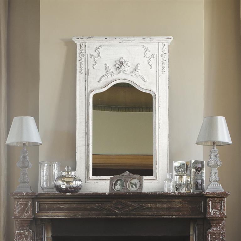 Miroir trumeau en bois H 124 cm MILLESIME