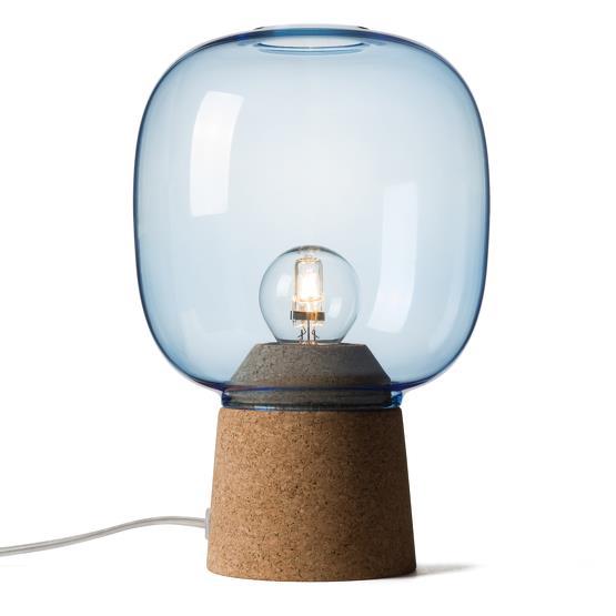 Lampe à poser bleue Picia - Enrico Zanolla