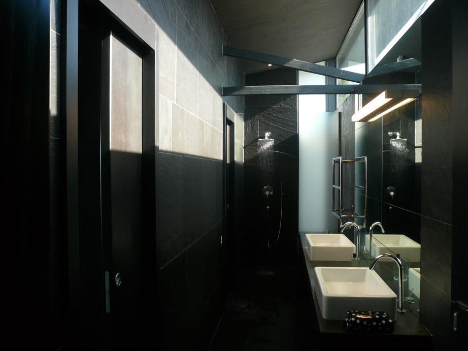 Salle d 39 eau en ardoise jean yves arrivetz photo n 16 - Salle de bain en ardoise ...