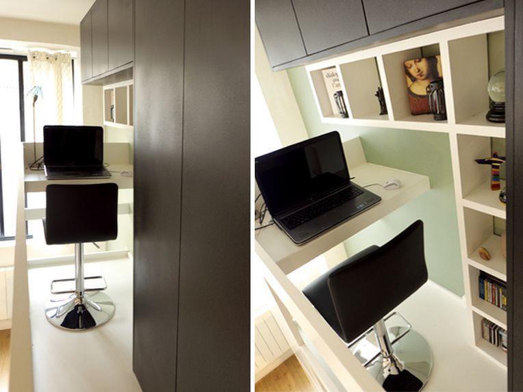 un loft paris. Black Bedroom Furniture Sets. Home Design Ideas