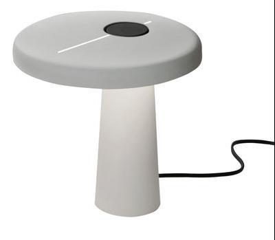 Lampe de table Hoop LED - Martinelli Luce blanc en métal
