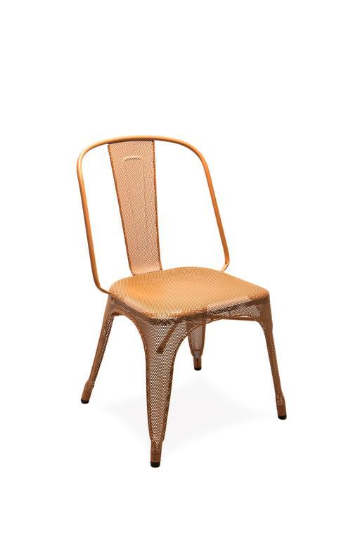 Chaise AC perforée oxyde 3