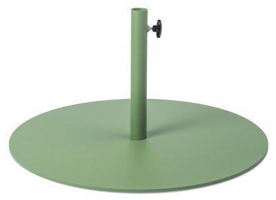 Pied de parasol - Fatboy vert industriel en métal