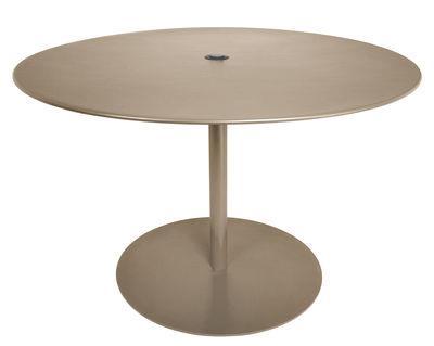 Table FormiTable XL / Métal - Ø 120 cm - Fatboy taupe