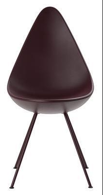 Chaise Drop Coque plastique Réédition 1958 Fritz