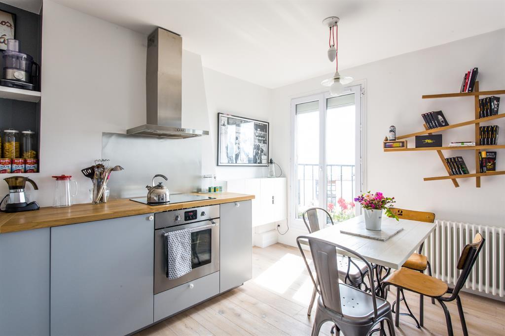 Incroyable Cuisine lumineuse au décor vintage et moderne Claire Clerc DX-26