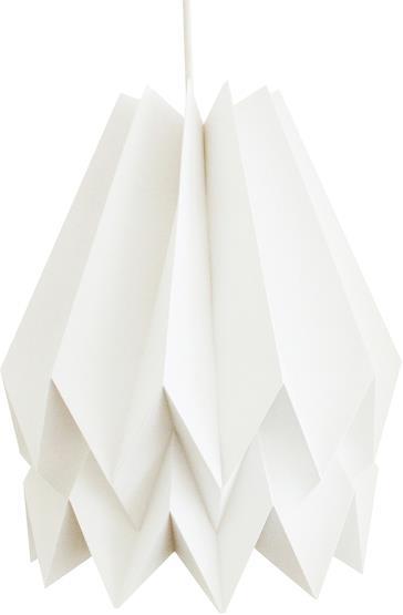 Abat-jour blanc en papier - Orikomi