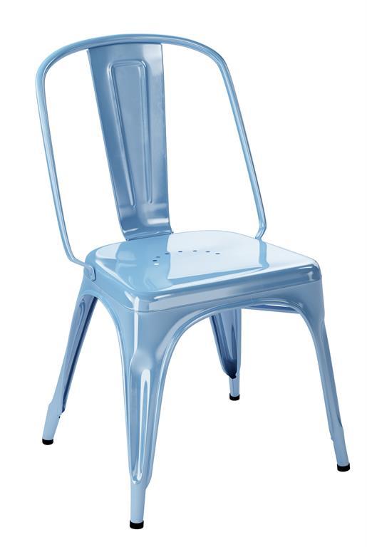 Chaise AC bleu azur