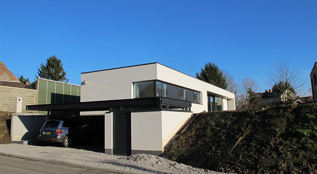 Maison passive et contemporaine - Maison passive design ...
