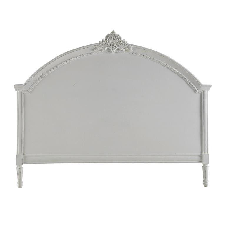 Tête de lit en manguier grise L 140 cm Médicis