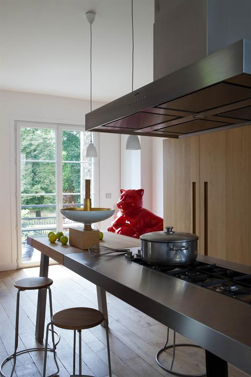 Lot central cuisine colletdesign photo n 30 domozoom for Ilot cuisine professionnel