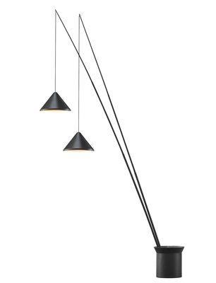 Lampadaire North LED / 2 abat-jours réglables - Ø 40 cm
