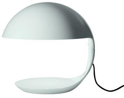 Lampe de table Cobra / 1968 - Martinelli Luce blanc brillant