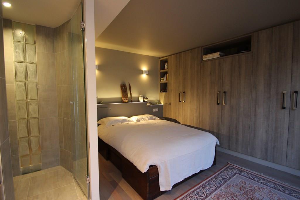 Petite chambre parentale avec douche for Petite suite parentale
