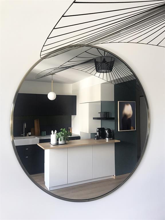 Rénovation d'un Appartement à Lyon - Agencement et Décoration - Cuisine et Séjour