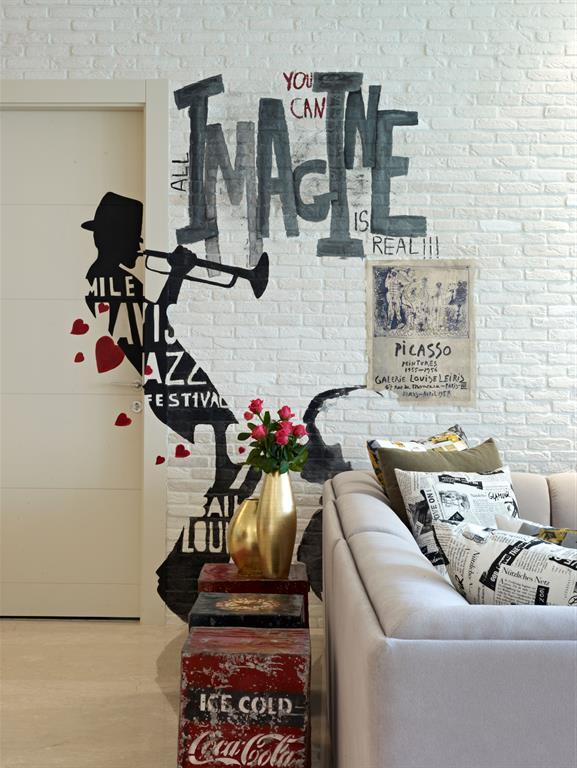 Salon style loft et jazz