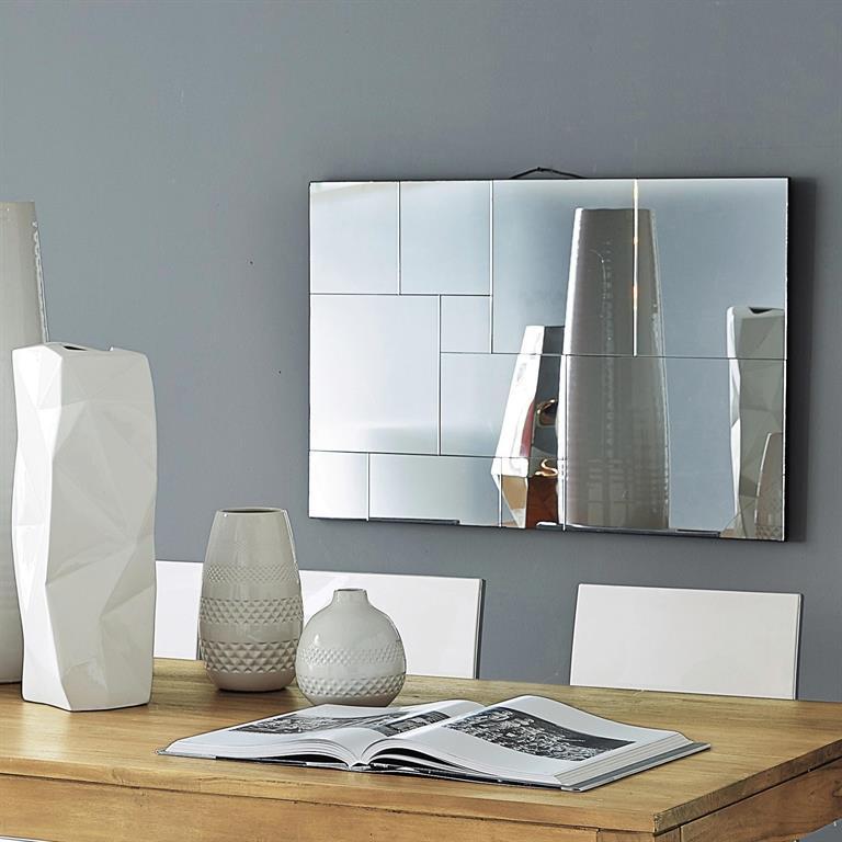 Miroir en bois H 90 cm SIMPLICITY