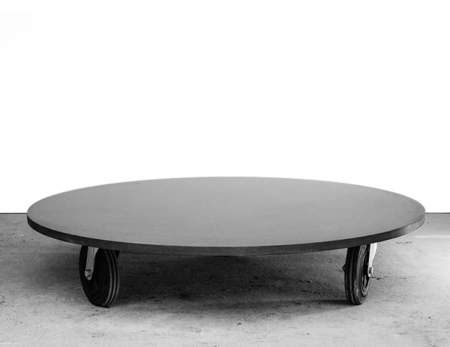 Table Basse Béton ronde