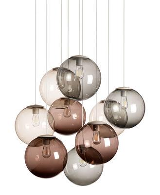 Suspension Spheremaker / Set 9 sphères - Fatboy marron
