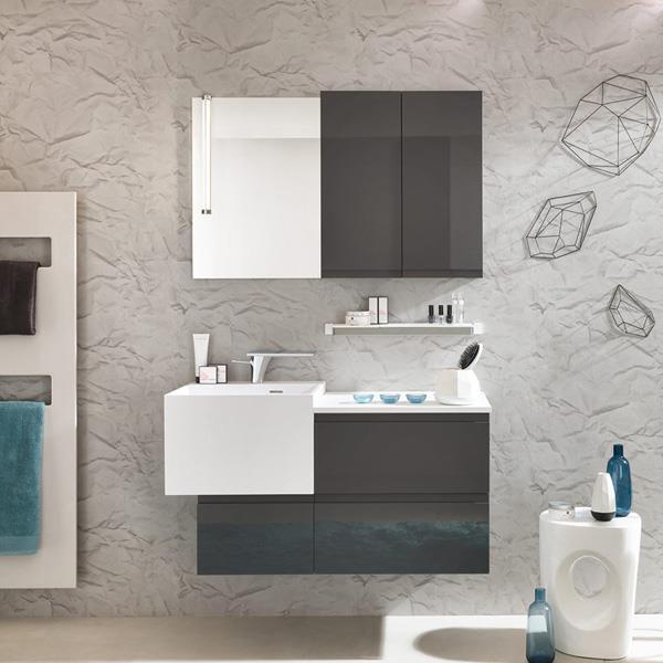 Meuble de Salle de bains Pure de la collection Unique