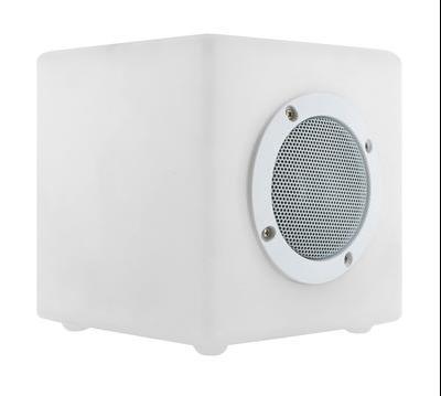 Enceinte lumineuse Bluetooth Cube Small OUTDOOR / 15 cm