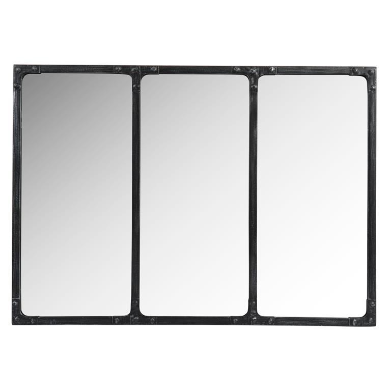 Miroir en métal H 50 cm OLSON INDUS