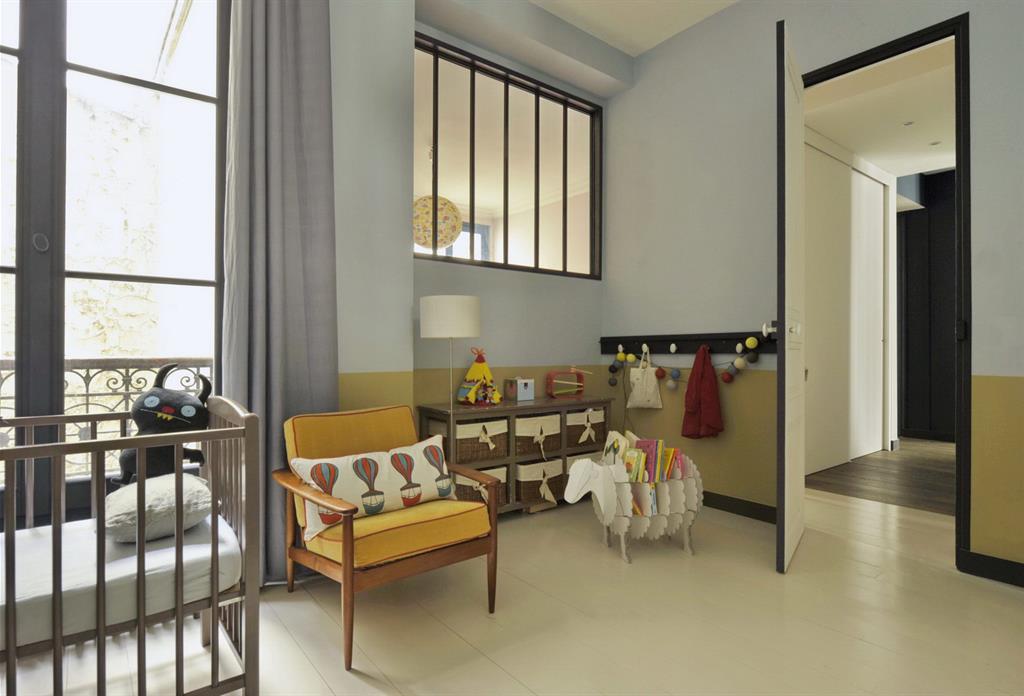 Chambre bébé vintage avec rangement mouton MOC photo n°80