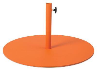 Pied de parasol - Fatboy orange en métal