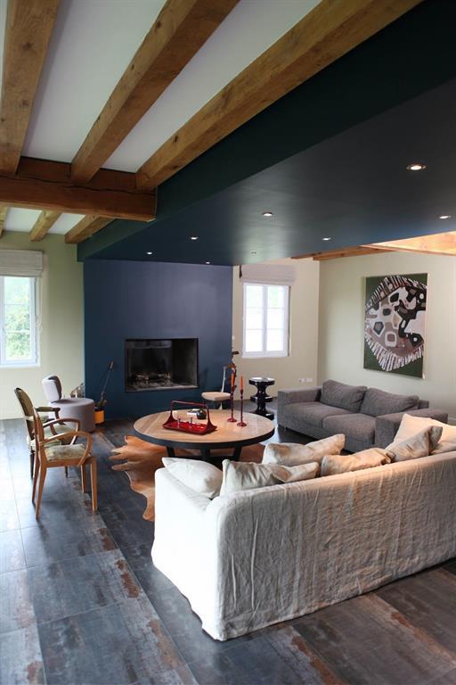 R am nagement d 39 une maison individuelle archibald photo n 58 for Salon maison individuelle