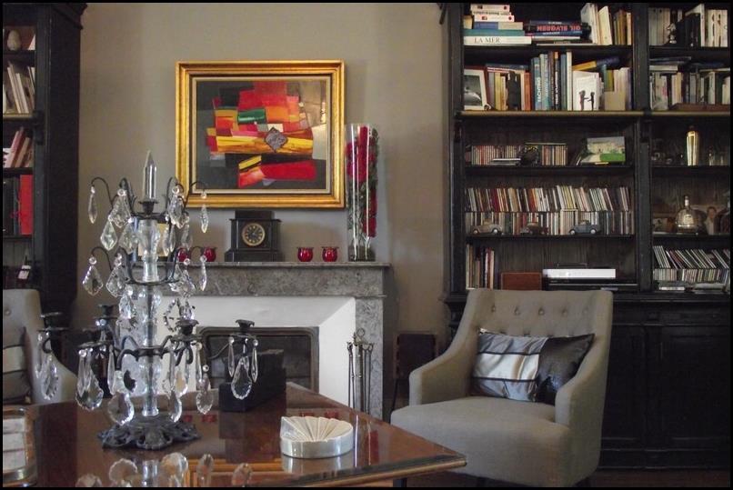 Int rieur chic pour un salon moderne portraitdemaison for Interieur chic