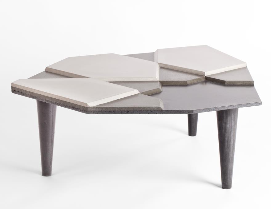 Table basse Fragment Béton