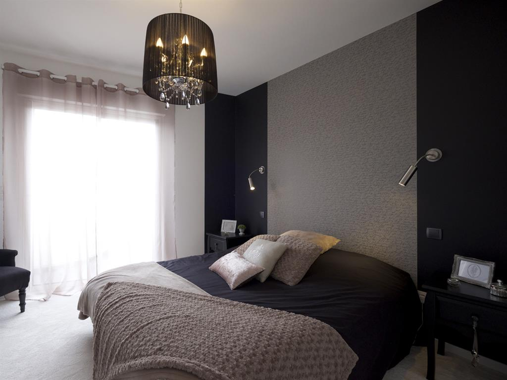 Un style plus glamour pour la chambre de la suite parentale for Photo chambre parentale moderne