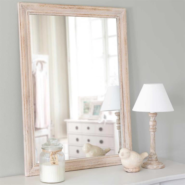 Miroir en bois H 70 cm MANOSQUE