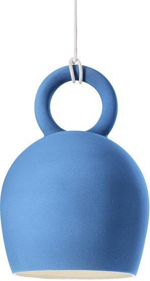 Suspension en céramique bleue Caló 30 - Pott