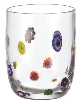 Verre à whisky Millefiori - Leonardo transparent en verre