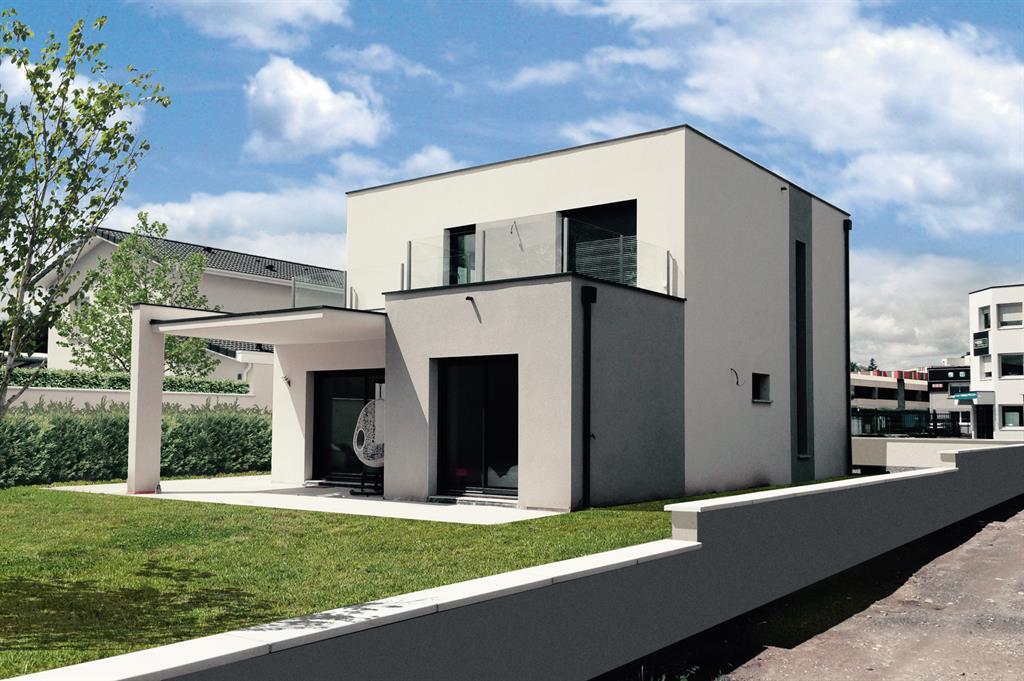 Création d'une villa ultra-contemporaine dans l'Ouest Lyonnais